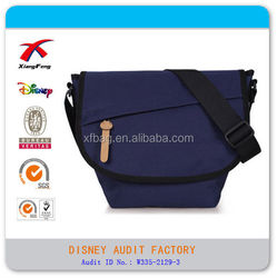 polyester mens messenger bag with school bag