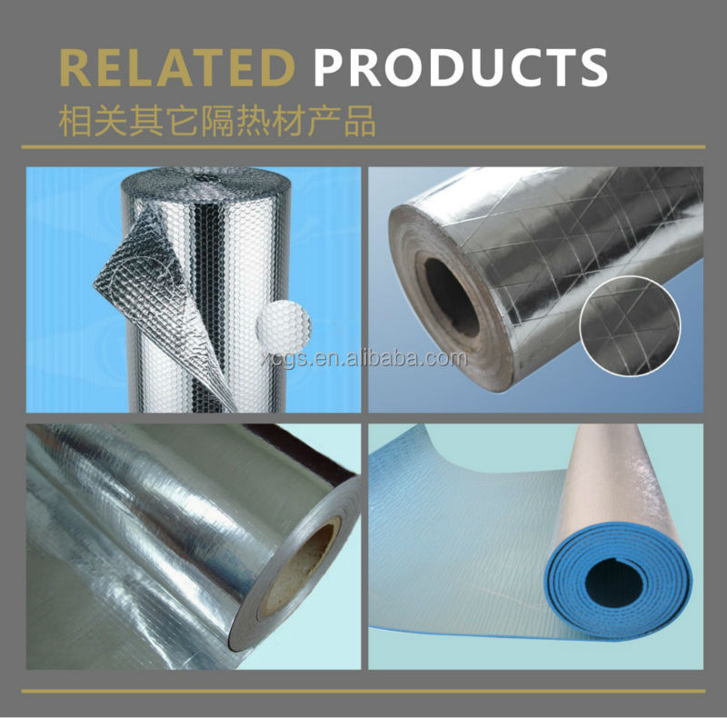 Other Heat Insulation Materials Type Aluminum Foil Reflective Insulation Woven