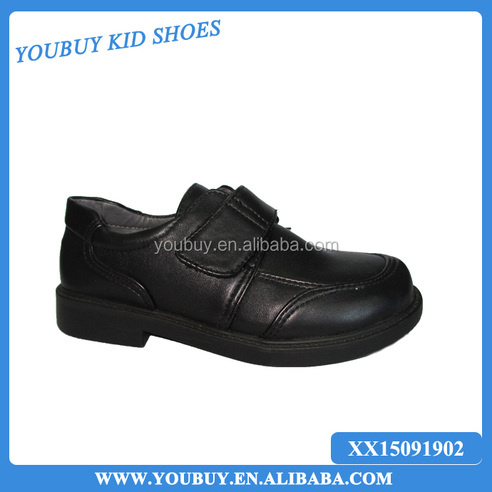 cheap wholesale bulk school shoes with leather uppers