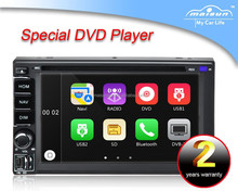 "Universal 6.2"" Windows CE 6.0 TFT Screen In-dash car DVD player"