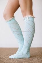 High Quality Fashion customized christmas boot socks