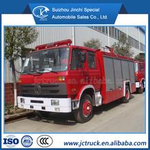China Dongfeng 4 X 2 6000L espuma / tanque de água de incêndio luta caminhão, Água e forma caminhão de bombeiros