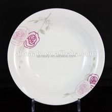 porcelain fruit plate porcelain deep denner plate pasta plate