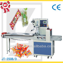 JT-250B automatic disposable spoon /knife /fork /tissue Pillow Horizontal Packing Machine