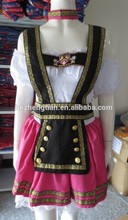 S-2xl Plus size Supplier oktoberfest costume Pink Fantasy German Girl Beer Adult Costume Halloween costumeinstyles fancy dr