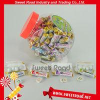 Mix fruit flavor center filling chewing gum/bubble gum