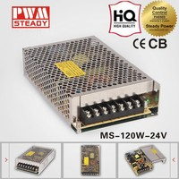ac dc mini size MS-120-24 CE approved 120w24v5a single output switching power supply