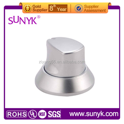 Item DSC_8459 OEM modern good surface finishes gas oven knob and bbq knobs