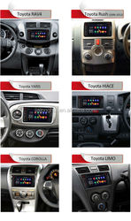 Dual Core Pure Android 4.4 Car Radio for Toyota Hilux Fortuner Innova old camry corolla old vios RAV4 Prado DVD GPS WIFI 3G SWC