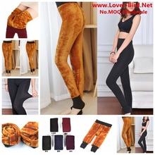 Free Shipping 2015 hot Women Casual Warm Winter cotton Legging High Quality Knitted add wool Thicken Slim Leggings wj333