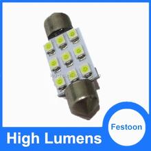 NEW festoon light no flash most stable car led light festoon bulb 12v c5w