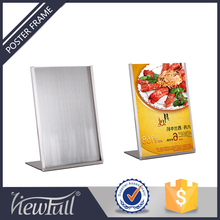 Metal A3 Poster Display Stand Advertisement For Any Product