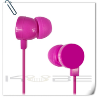 Hot selling popular multi-function colorful earphone for all smartphone