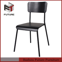 modern bentwood high gloss painting dining chairs