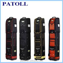 Wholesale custom promotional hard case golf travel bag