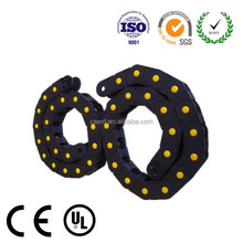 High quality CNC plastic cable chain, cable carrier chain, Nylon drag chain