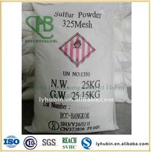agricultural sulphur powder 325 mesh
