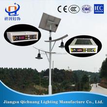 2015 new Manufacturer supply lithium battery solar street light