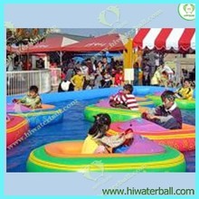 HI CE inflatable child electric bumper boat on sale