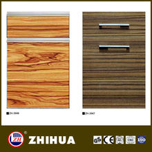 PVC blister country style kitchen cabinet door