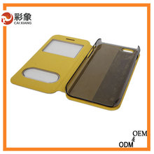 Alibaba Trade Assurance hot selling the good PC leather case for iphone5