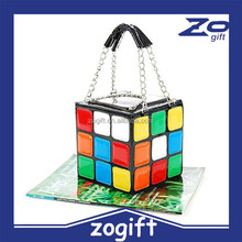 ZOGIFT Lady Girlish Magic Cube Bag/Tote/Handbag Women's Hot Cute Magic Cube Bag Purse Korean Fashion handbag
