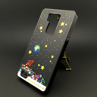 A Starry Sky Liquid Case For Huawei Ascend Mate 7 Crystal Clear Cellphone Back Cover