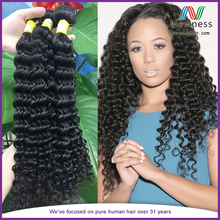 Factory outlet price French virgin 100% human hair can be dyed deep wave