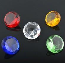 2014 Wholesale crystal diamond shining moissanite diamonds with wholesale price,glass diamond