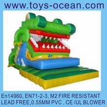 inflatable open mouth slide inflatable toboggan slide movement inflatable slide