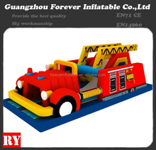 2015 Hot-Selling Inflatable Fire Truck Park