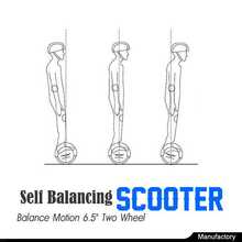 High quality balancing scooter electric scooter retro