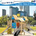 Fantástico divertido equipo de ejercicio para childern ejercicio zona de juegos para los niños