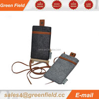 2014 new cell phone neck pouch soft cell phone neck pouch