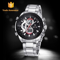 WEIDE LCD Time Service International Details Quartz Wrist Watch