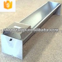 factory manufacture stainless steel animal feeding trough