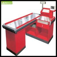 High quality cashier counter table /supermarket cashier desk