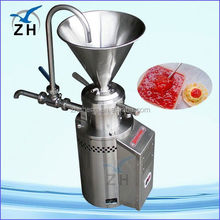 Stainless steel colloid grinder for peanut butter