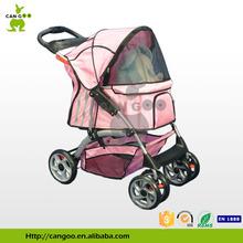 Durable 4 Wheels Pet Carrier On Wheels Pet Stroller