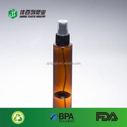 new products plastic pet bulk pet 100ml amber pet pocket sized spray perfume bottle
