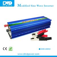 2015 DMD 4kw dc to ac power inverters dc 12v ac 220v 4kva power inverter