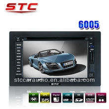 Cheap Price 6.2 Inch Double Din World Tech Car Audio DVD Player With Navigation GPS And Bluetooth