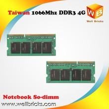 Computer memory ram Full compatible Original chip RAM memoria ddr3 4gb 1GB 2GB 1066MHZ lap