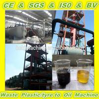 Black Used Diesel Engine Oil Restore Equipment/Oil Distillation to Diesel Fuel Equipment