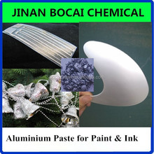 imitation plating effect metallic aluminum powder paste pigment used for making silver decorative coating and paint