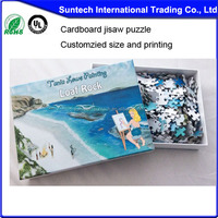 Printing funny gifts puzzle with solution educational puzzle game for adult