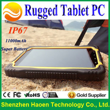 rugged android tablet pc computer with Android 4.2 NFC Near field communication industrial phablet