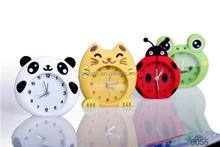 Promotional cheap running alarm clock Silicone Table Clock