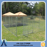 2015 Powder coating or galvanized comfortable big dog kennels