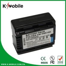 3.7v vbk180 camera battery for Panasonic HDC-HS60